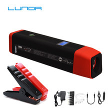 LUNDA Portable Car Jump Starter (Up to 6.0L Gas or 4.0L Diesel Engines) Auto Battery Booster Power Pack Phone Charger(China)