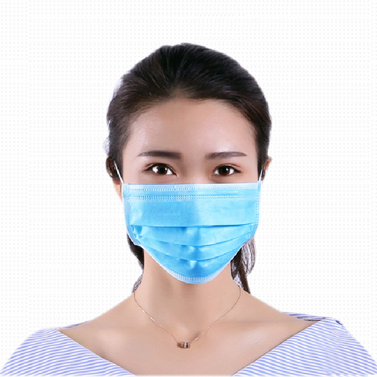 10/50 Piece Gas Respirator Disposable Protective Mask 3 Layers Dustproof Face Protection Mask Respirator Antibacterial