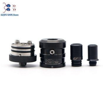 Flash-e-vapor – atomiseur à bobine unique de 23mm, vaporisateur reconstructible, goutte à goutte FEV RDA vs le dripper RDA haku rda