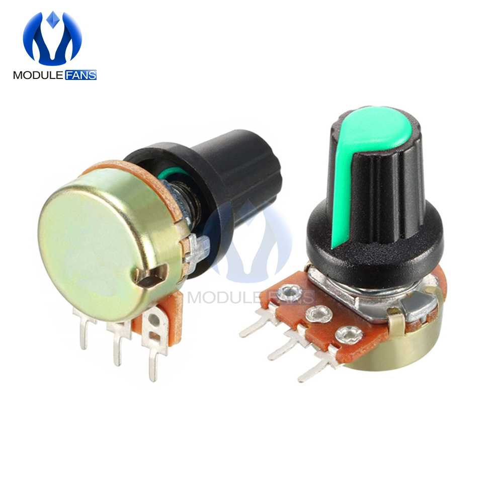 10PCS Rotary Potentiometer Linear Taper Potentiometer WH148 500K 1M 1K 2K 3K 5K 10K 20K 30K 50K 100K 200K 300K Ohm AG2 A-2