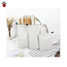 NEW Women Shopping Bag DIY Female Canvas Cloth Shoulder Bags Environmental Storage Handbag Reusable Foldable Eco Grocery Totes