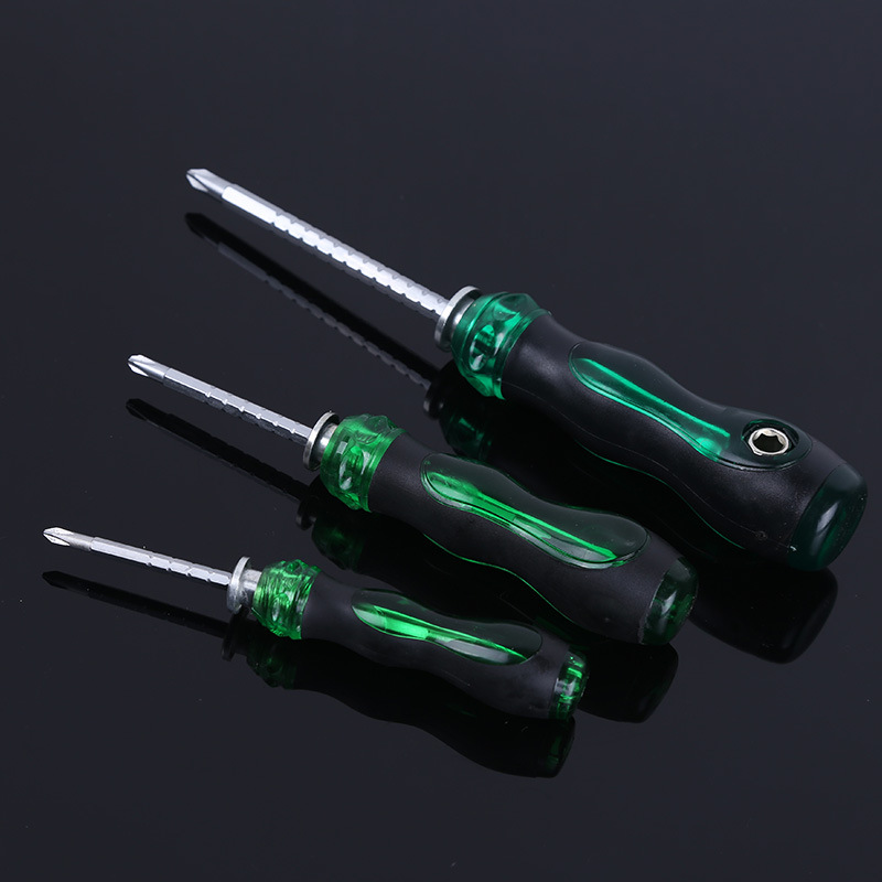 4/5/6mm Dual Purpose Scalable Screwdriver Multi-function Phillips/Slotted Screwdrivers CR-V Screw <font><b>Driver</b></font> Screw-driving Tools image