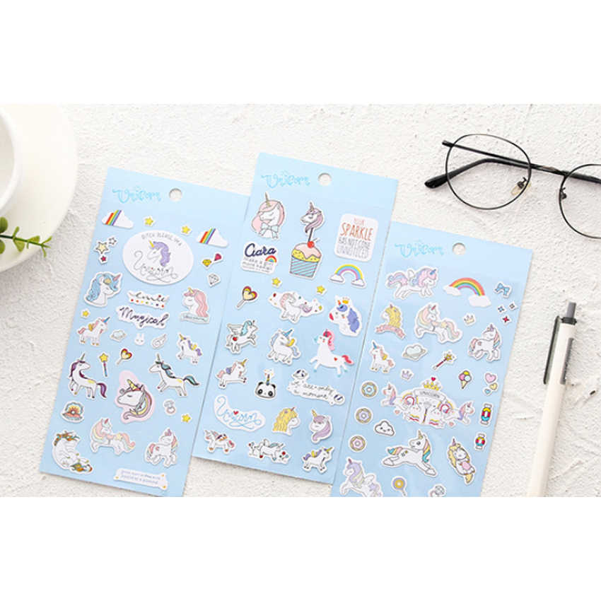 1 teile/los Kawaii Koreanische Kreative cartoon Dekorative Scrapbooking Stick Label Tagebuch Schreibwaren Album Aufkleber