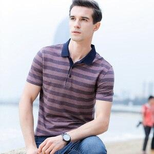 Image 3 - الصيف القطن قمصان قصيرة الأكمام الشباب عادية التلبيب الاتجاه فضفاض الرجال قميص بولو الرجال قميص بولو رقيقة