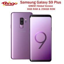 Samsung Galaxy S9 + S9 más G965F 256GB Original 4G LTE teléfono móvil Android Octa Core 6,2