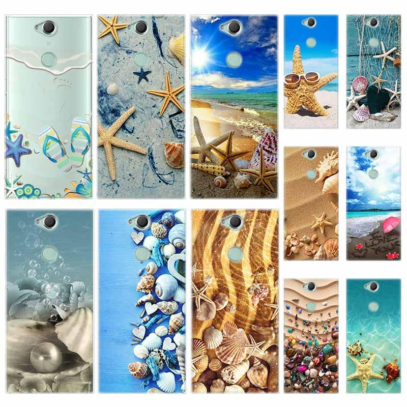 Силиконовый чехол из ТПУ для Sony Xperia X XA XA1 XA2 XA3 XZ XZ1 XZ2 XZ3 XZ4 L1 L2 L3 Plus Compeact Summer Beach Landscape Pattern|Специальные чехлы|   | АлиЭкспресс
