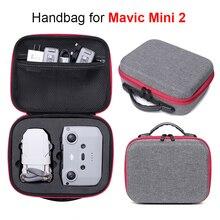 Przenośna pamięć masowa torba dla DJI Mavic Mini 2 Drone akcesoria do zdalnego sterowania Zipper torebka mini 2 odporny na wstrząsy futerał do przenoszenia pudełek