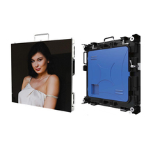 4pcs P4 HD SMD indoor 512x512mm die casting aluminum cabinet rental led display panel pantalla screen for advertising video wall