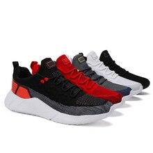 Erkek spor ayakkabı hava Mesh nefes açık adam moda Sneaker yeni vulkanize ayakkabı Zapatos Hombre erkekler rahat ayakkabılar koşu ayakkabıları
