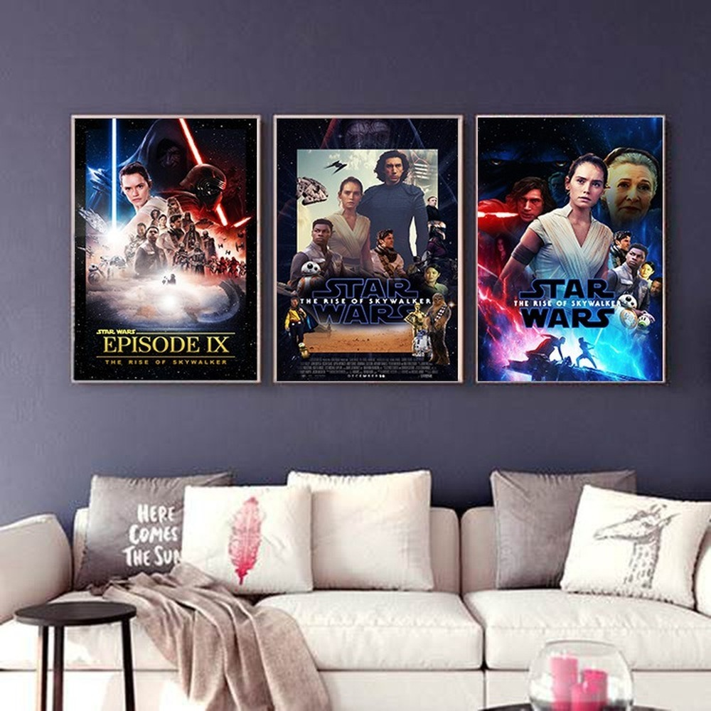 2019 Star Wars 9 Movies Poster The Rise Of Shywalker Jedi Knight