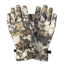 Уличные охотничьи Hloves на весь палец плюс бархатные перчатки теплые тактические камуфляжные спецназ Cs лыжи езды Дикая Охота