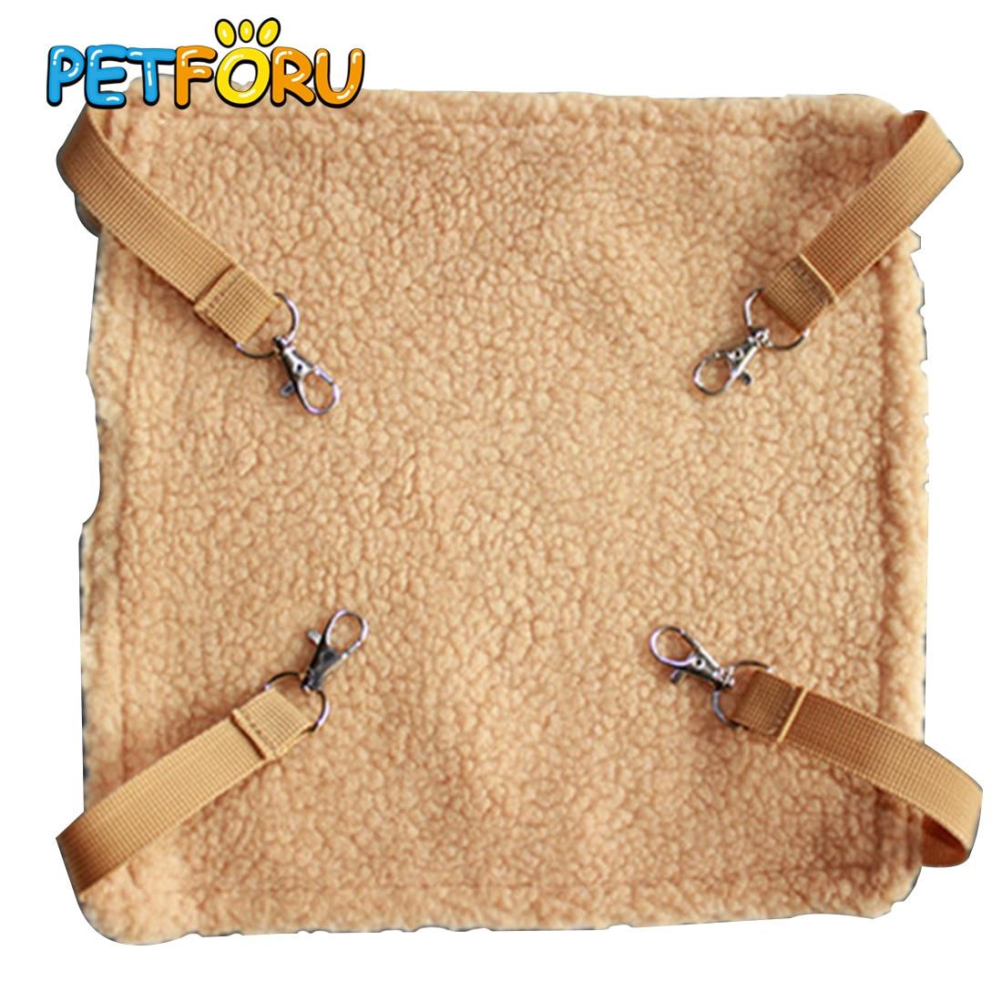 PETFORU 27*27CM Small Animal Pet Hamster Hammock Hanging Bed Cage - XS
