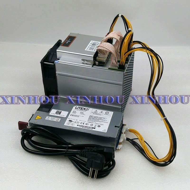 Antminer Z9mini 10K 300W ZCASH ZEC BTG Asic Equihash Майнер с БП Майнер экономичнее чем S17 S9 Z11 Z9 Innosilicon A9 T2T