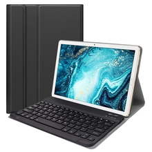Suitable for Huawei Mediapad M6 10.8 Inch (2019) Split Protective Cover Bluetooth Keyboard Backlit Keyboard Backlight Protective keyboard suitable for ge mac1200 ge mac1200st monitors panel keyboard