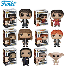 Funko POP Harry Potter Dobby Severus Snape 10CM Vinyl Action Figure Collection Model Anime Figure Toys Gifts Brinquedos 25F10 stranger things character 10cm action figure toys vinyl dolls for collection