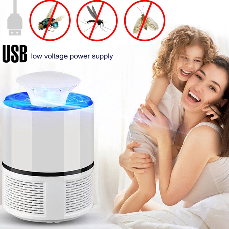 Led Mosquito Killer Lamp USB Electric No Noise No Radiation Insect Killer Flies Trap Lamp Anti Mosquito Lamp UV Night Light Home