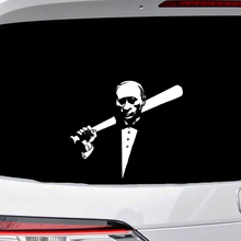 цена на 20x19cm Putin Car Stickers Car Accessories Motorcycle Sticker Celebrity Creative  Funny Decals For Tail Auto Tuning Styling