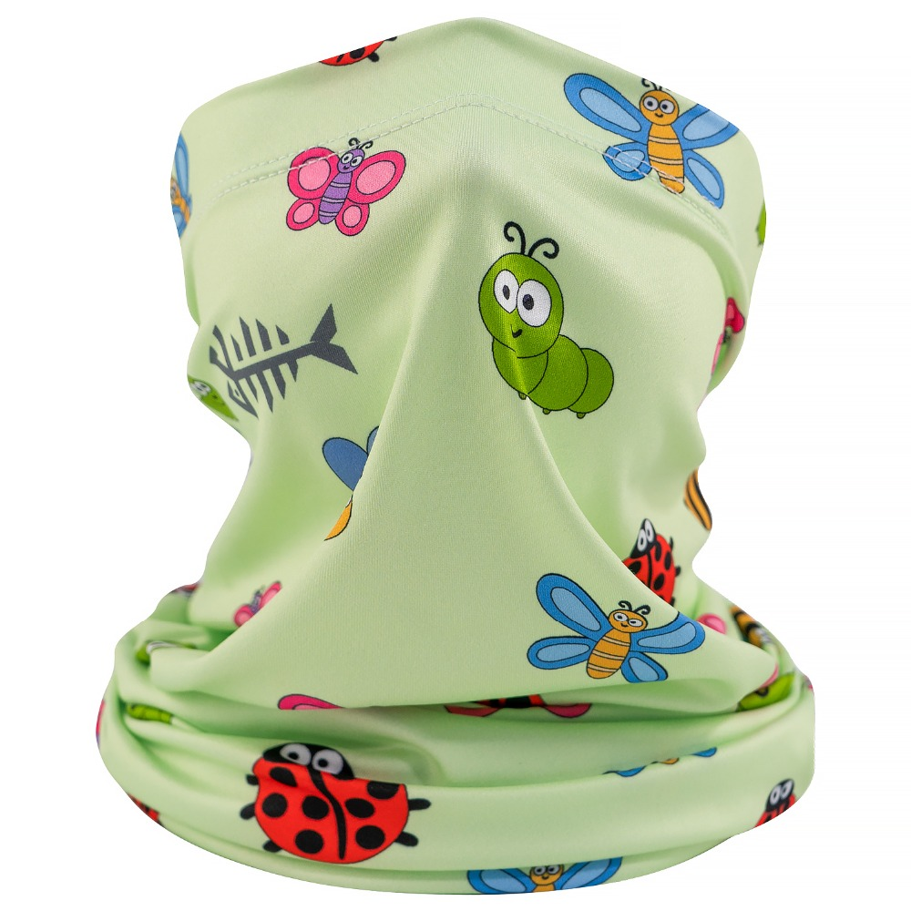 cool neck gaiter for kids and face gaiter for kids