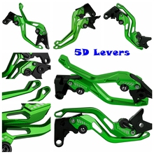 цена на For Kawasaki Ninja 250R EX250 125 Z125 250HS EX500 EX 250 500 HS Z CNC Motorcycle 5D New Style Long&Short Brake Clutch Levers