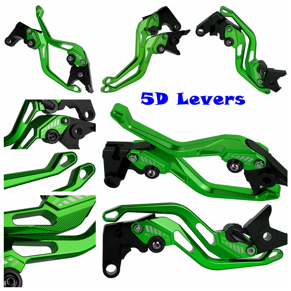 For Kawasaki Z750 (not Z750S ) Z800 Z800E Version Z-750 Z-800 E CNC Motorcycle 5D New Style Long&Short Brake Clutch Levers