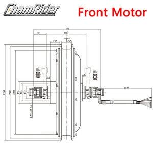 Image 3 - 48V 500W Direct Drive Gearless Hub Motor E bike Motor Front Motor Rear Cassette Motor Optional MXUS Brand XF39 XF40 freehub