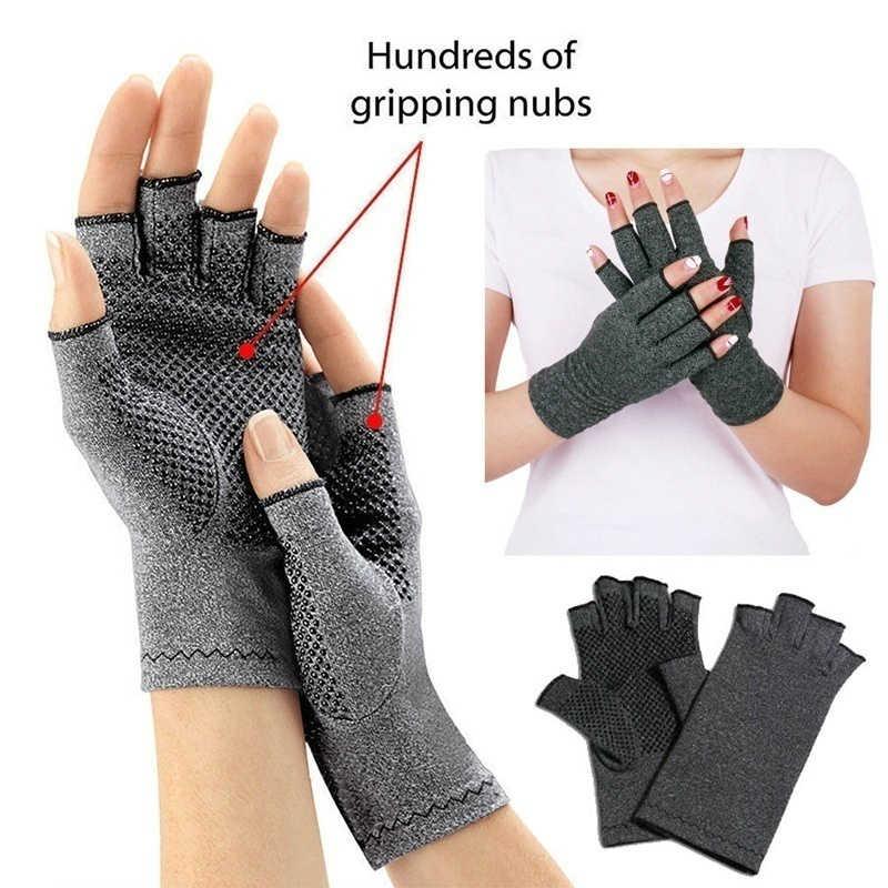 1 זוגות כפפות דלקת פרקים מגע מסך כפפות דלקת אנטי טיפול דחיסת כפפות וכאב כאבי הקלה חורף חם