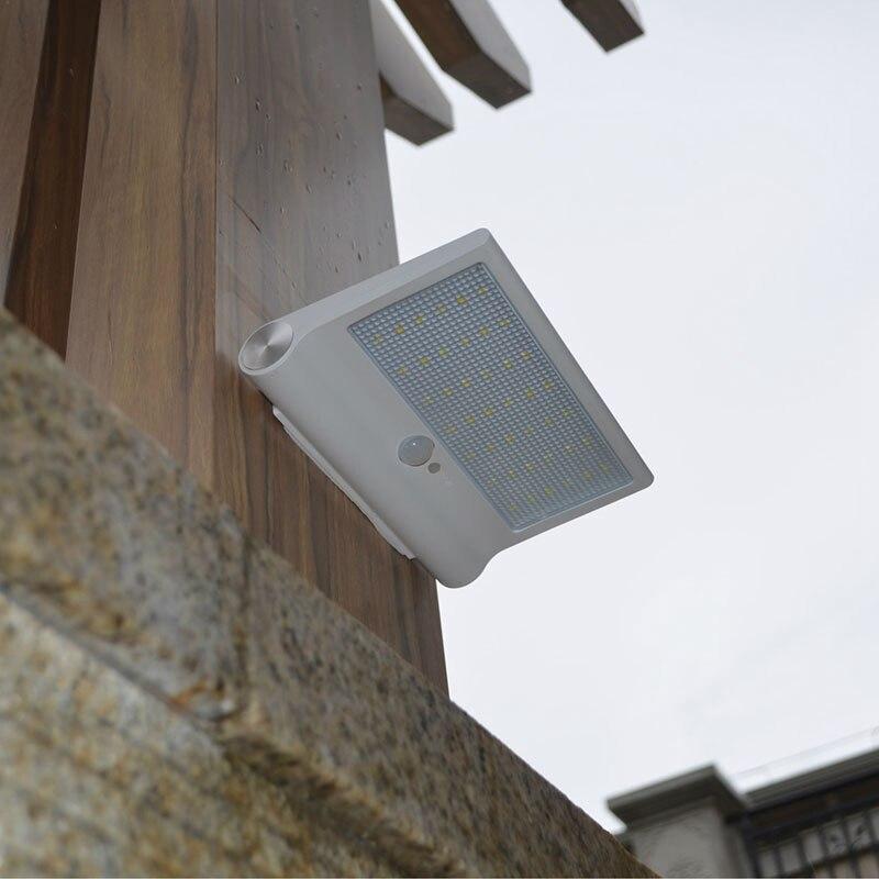 Energy Saving Lamp Waterproof IP65 42Leds Led Solar Lamp Outdoor PIR Montion Sensor Solar Garden Light Yard Path Street Lamp