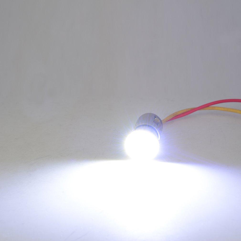 Car Motorcycle Light Auto Tail Parking Indicator Light Lamp Bulb 12V