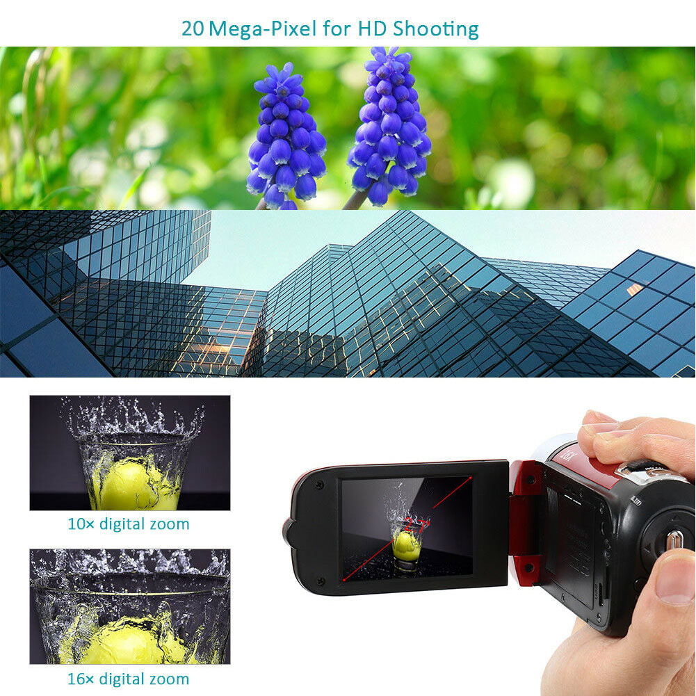 1080P  DVR Camcorder Shooting Anti-shake Clear Gifts Digital Camera Professional Timed Selfie High Definition Night Vision 6