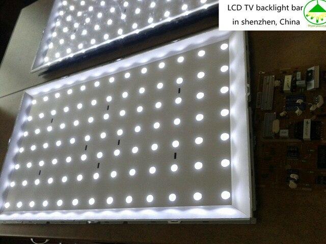 14 шт., светодиодные панели для телевизора Samsung UE40F6200AK UE40F6320AK UE40F6330AK UE40F6350AW, подсветка ленты L R, комплект 13 светодиодных ламп с линзами