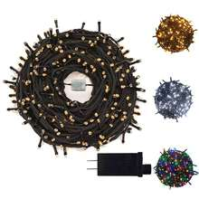 Yasenn 35 м 500leds светильник с датчиком наружная Рождественская