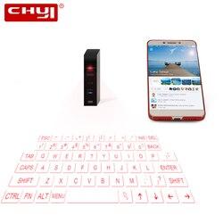 Laserowa wirtualna bezprzewodowa klawiatura Bluetooth Kayboard przenośna Mini ręczna projekcja laserowa klawiatura na podczerwień do smartfona Ipad Notebook