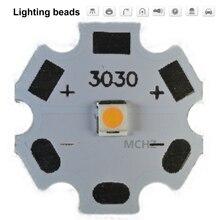 цена на 50pcs 3030 2W PCS Cree XPE XP-E /XTE XT-E/XPG XP-G 3535LED PCB Aluminum board 20mm For DIY LED
