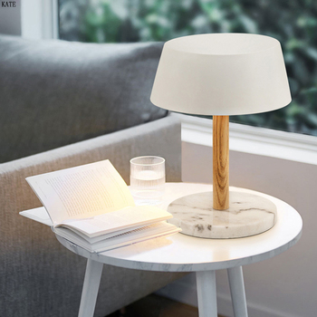 Nordic light luxury led table lamp  bedroom bedside lamp simple modern warm living room hotel engineering table lamp