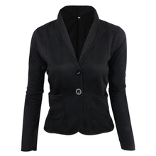 Explosion Models Foreign Trade Womens Short Solid Color Small Jacket Casual Suit Temperament Commuter Female