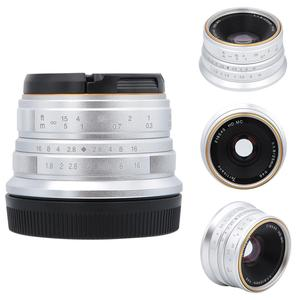 Image 4 - 7 장인 25mm F1.8 소니 E A5000 A5100 A6300 A6500 용 수동 초점 렌즈 Olympus M4/3 마운트 용 후지 FX 용 캐논 EOS M 용