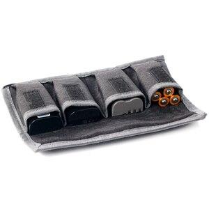 Image 1 - Besegad 4 slot DSLR pil çantası taşınabilir kamera pil taşıma saklama kutusu tutucu kılıfı Nikon Canon Sony kamera için araçlar
