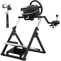 X Frame Racing Simulator Steering Wheel Stand For G29 G920 T300RS T150