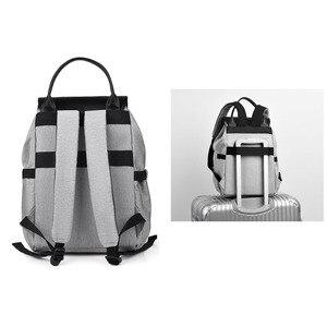 Image 4 - 2020 yeni su geçirmez bebek bezi çantası anne annelik Nappy sırt çantası bebek arabası bebek organizatör hemşirelik değişen çanta bakımı anne için
