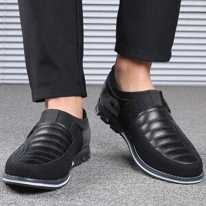 Image 4 - Męskie obuwie codzienne 2019 męskie mokasyny mokasyny modne buty do jazdy męskie buty do biura najnowsze męskie płaskie