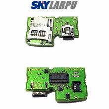 Scheda PCB originale con Mini USB e supporto MicroSD per Garmin Edge 800 tipo 10 ricarica riparazione sostituzione spedizione gratuita