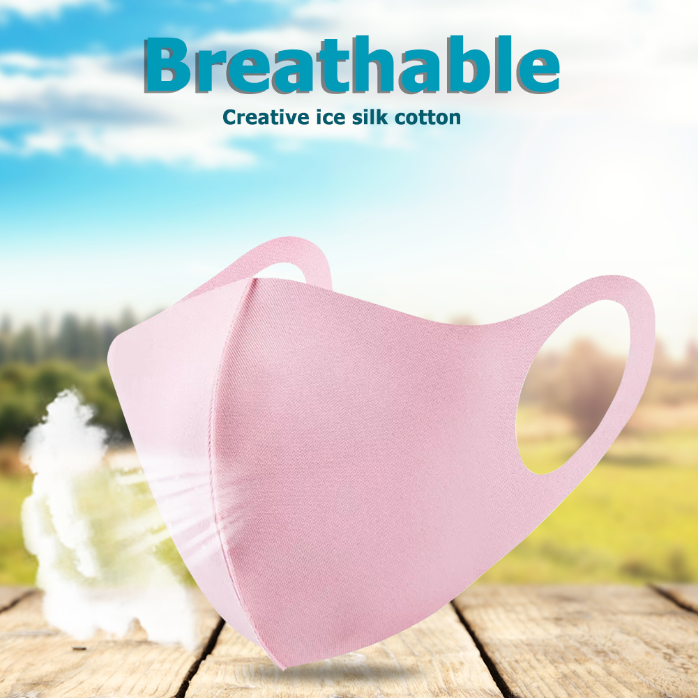 1pc Anti Haze Dustproof Face Mask Washable Reusable Breathing Mouth-muffle Face Masks