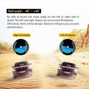 Image 5 - Autool X90 カー hud ヘッドアップディスプレイ obd ii ゲージエレクトロニクス OBD2 スピードメーターチルトピッチ角分度器緯度経度