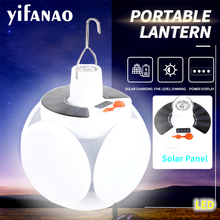 Solar LED Torch USB Rechargeable Night Light Outdoor Camping Lamp Emergency Lights Portable Searchlights Great Lantern led cheap yifanao CN(Origin) ROHS Multifunctional camping lights LITHIUM ION LED Bulbs Portable Lanterns led work light Rechargeable Battery