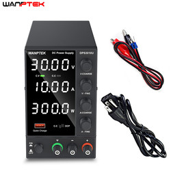 USB Adjustable DC 30V 10A Laboratory Power Supply Adjustable 60V 5A Voltage Regulator Stabilizer Switching Power Supply DPS3010U