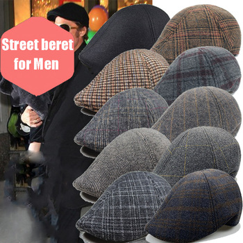 Lots Style Men Berets 2021 Spring Autumn Casual Street Newsboy Beret Hat Retro England Hat Wild Octagonal Cap Fashon Hats Caps