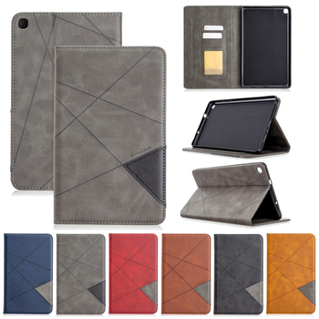 цена на Stand Cover for Samsung Galaxy Tab A 8.0 P200 P205 SM-P200 SM-P205 With S Pen 2019 8 With card slot PU Leather Tablet Case