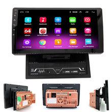 2 Din Android 9.1 Auto Multimedia Speler 10Inch Autoradio Stereo Radio Gps Navigatie Bluetooth Video Wifi Camera Dvr 2DIN geen Dvd