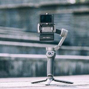 Image 4 - PGYTECH ACTION Kamera Adapter + für Mobile Gimbal für Gopro Hero7 6 5 Osmo Action DJI osmo Mobile 3 glatte 4 kamera Zubehör