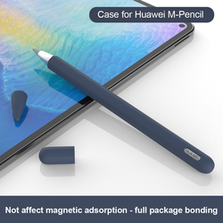 Силиконовый пенал с защитой от потери для Huawei M, совместимый с Huawei Matepad Pro, сенсорная ручка, стилус, защитные чехлы на рукавах